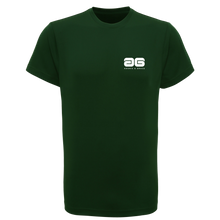 Load image into Gallery viewer, Adonis & Grace Training Slim Fit T Shirt Running Gym Top Bottle Green-Custom Teamwear