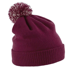 Rural Apparel Snowstar Beanie Wine Hat - BrandClearance