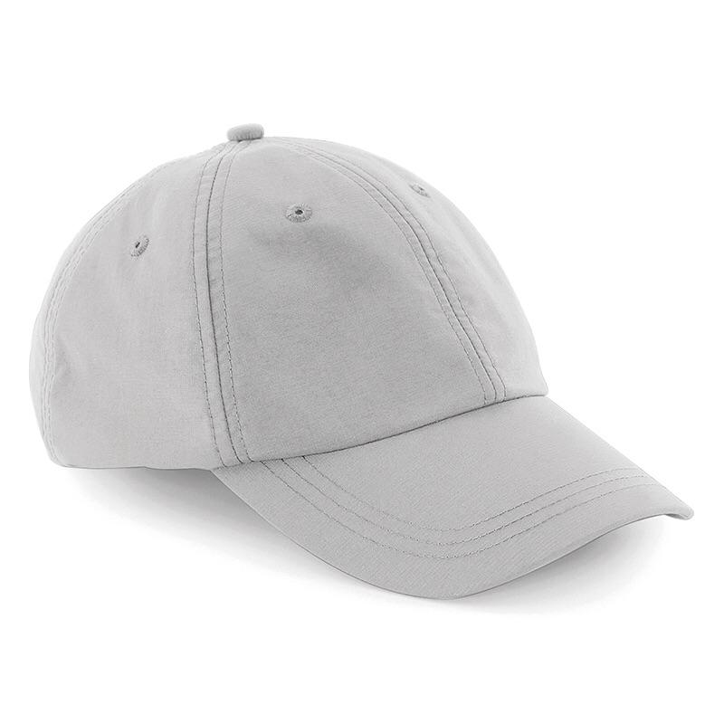 Beechfield Outdoor 6 Panel Baseball Cap BC187 Light Grey-Custom Teamwear