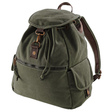 Load image into Gallery viewer, Adonis & Grace Vintage Canvas Backpack-Custom Teamwear