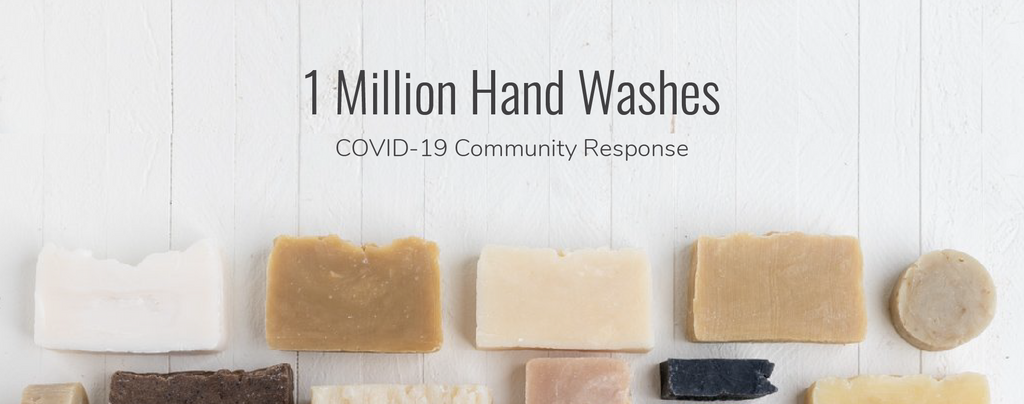 One Million Hand Washes: A COVID-19 Community Response