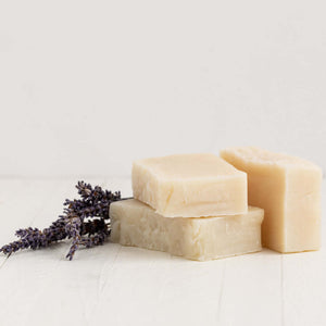 natural lavender body soap bar