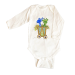 Bodysuit Long Sleeve 1002-Giraffes-in-Cart