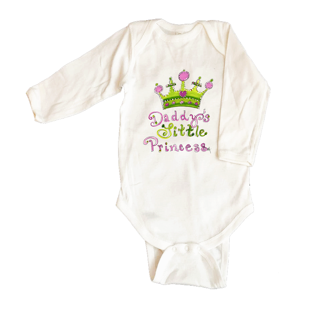 Bodysuit Long Sleeve 1039-Daddy's-Little-Princess
