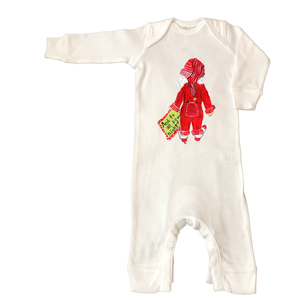 Rib Coverall Infant Baby Christmas 467-And-to-all-a-Good-Night