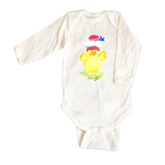 Bodysuit Long Sleeve 516-Duck-w-Pom-Pom-Hat