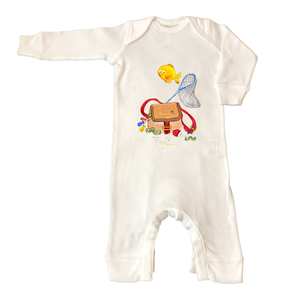 Rib Coverall Infant Baby 521-Just-Fishin