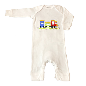 Rib Coverall Infant Baby 664-Little-Toot
