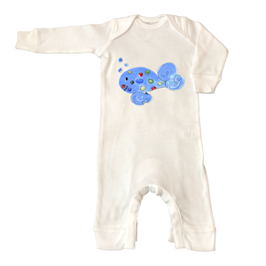 Rib Coverall Infant Baby 782-Dan-the-Whale