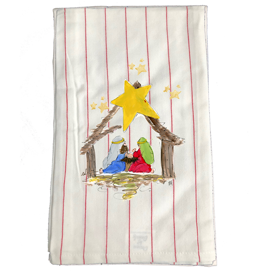Kitchen Towel Christmas KT1021RS
