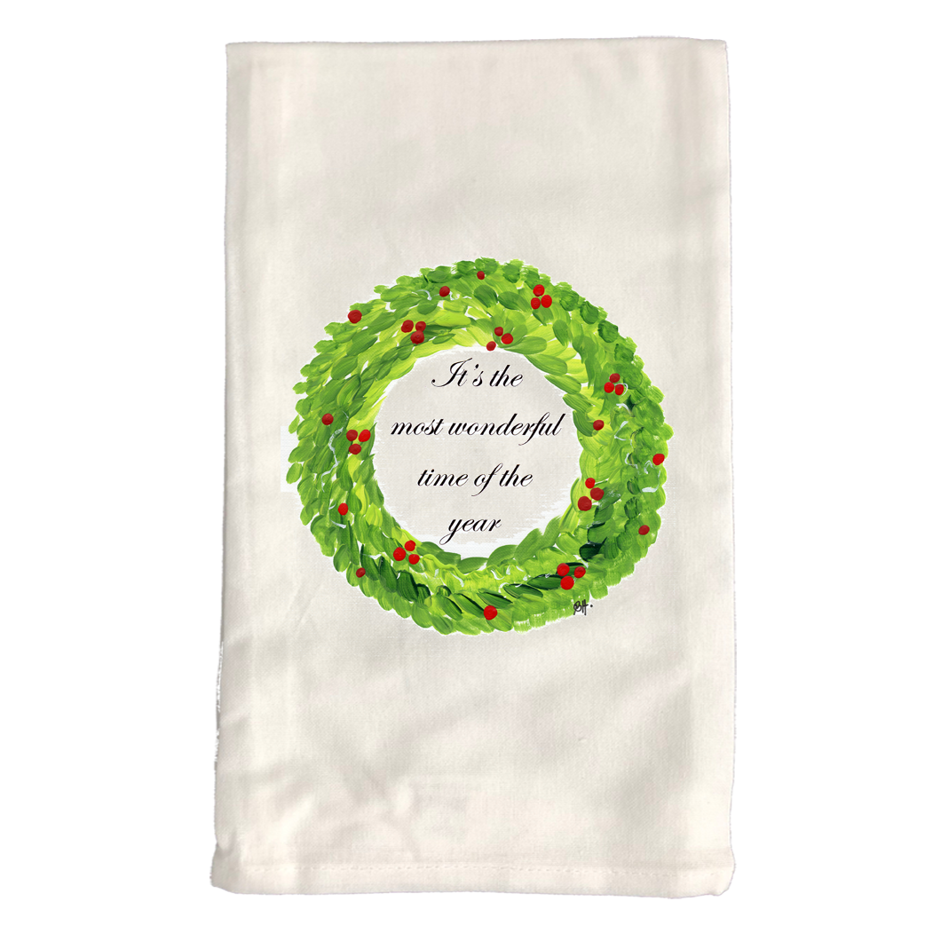 Kitchen Towel Christmas KT641W