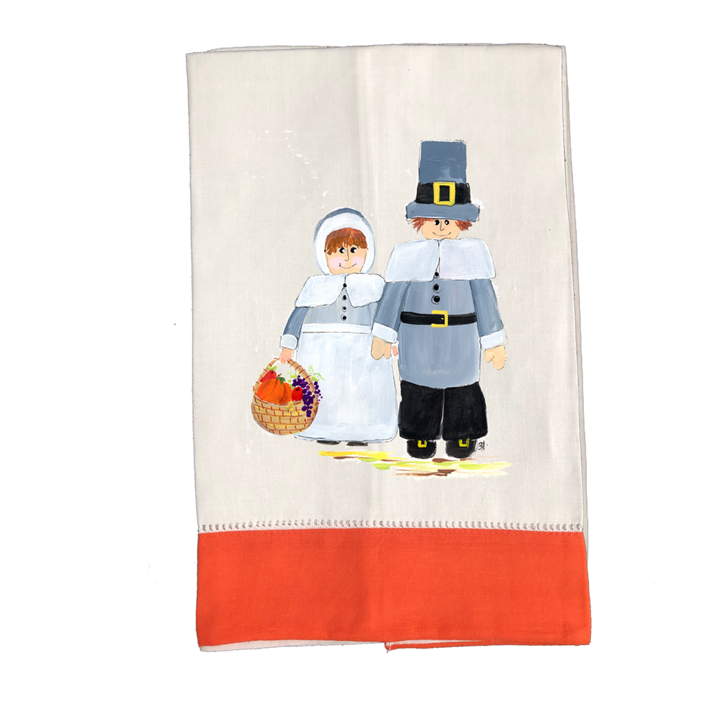 Tea Towel Thanksgiving T382O