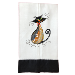 Tea Towel T488BLK