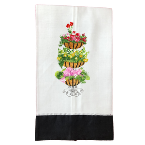 Tea Towel T575BLK