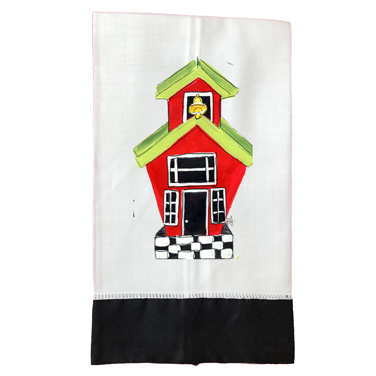 Tea Towel T592BLK