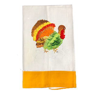 Tea Towel Thanksgiving T650M