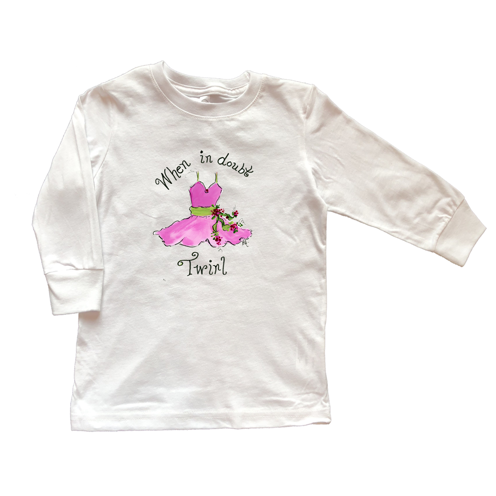 Girls Tee Shirt Long Sleeve TS1006