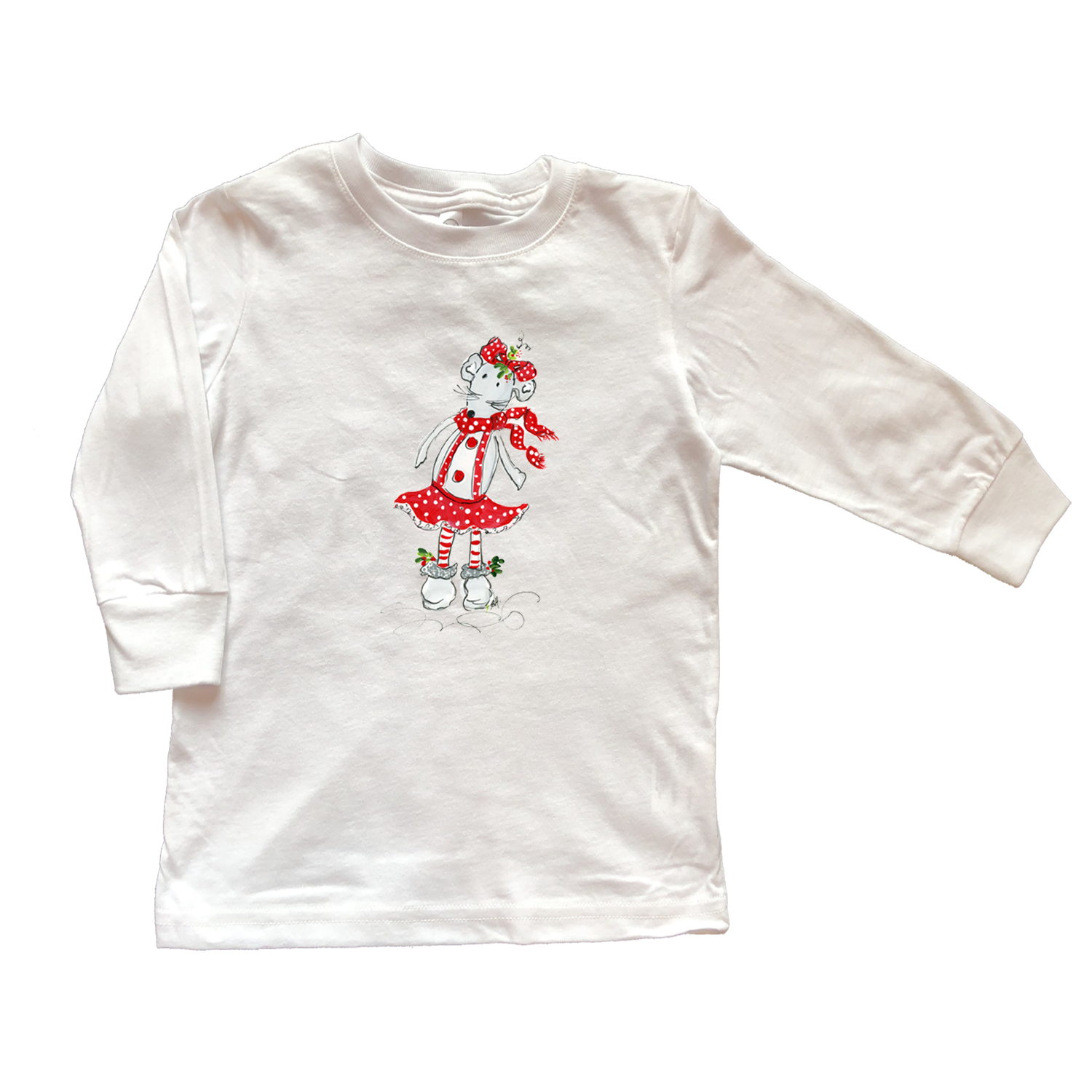 Girls Tee Shirt Long Sleeve TS1011
