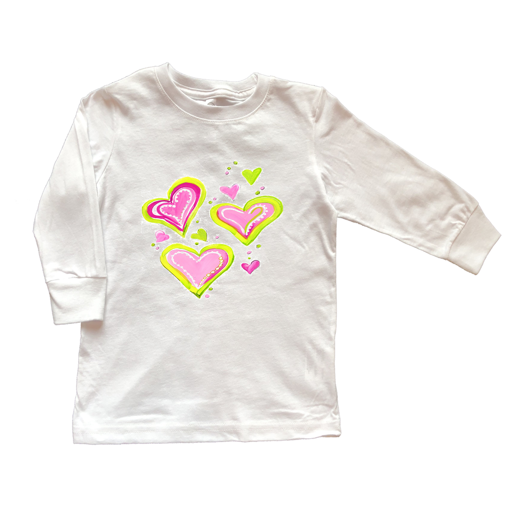 Girls Tee Shirt Long Sleeve TS659