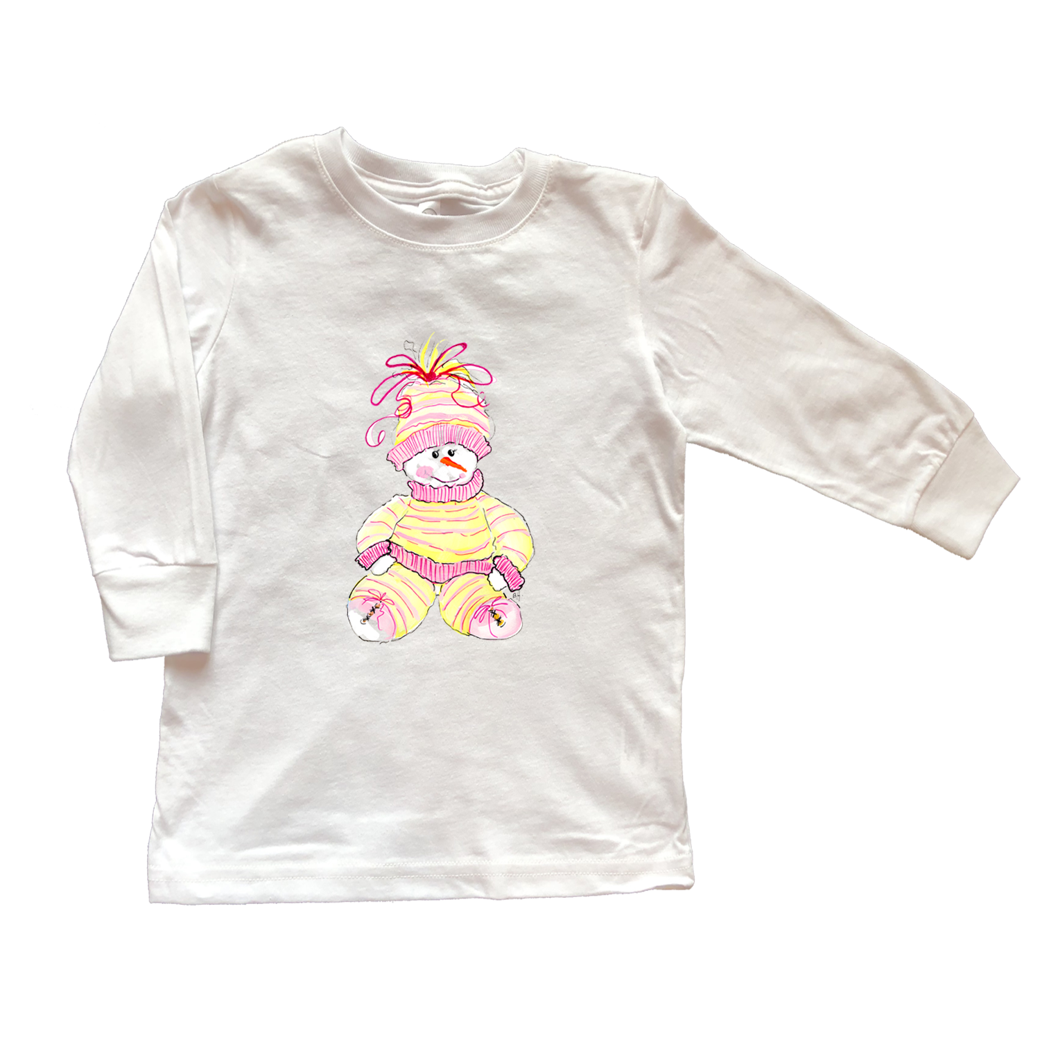 Girls Tee Shirt Long Sleeve TS703