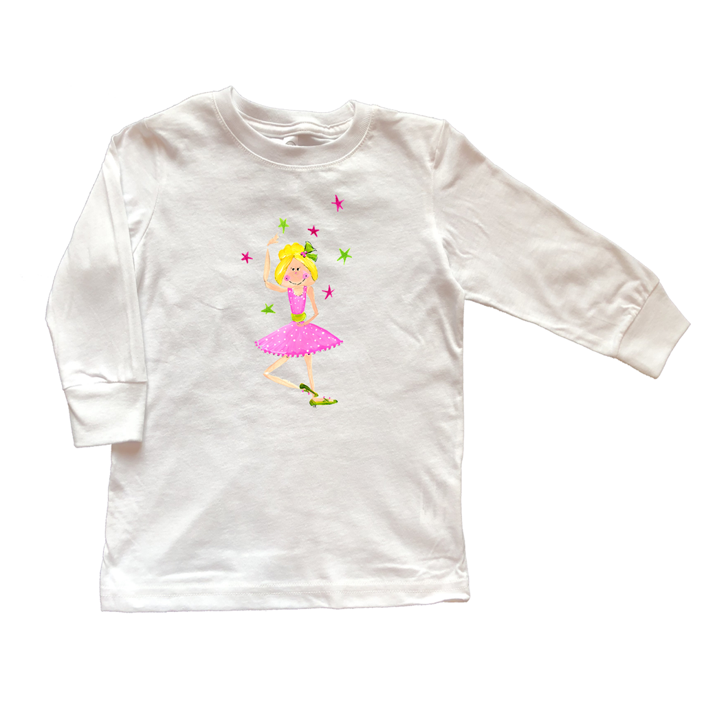 Girls Tee Shirt Long Sleeve TS846