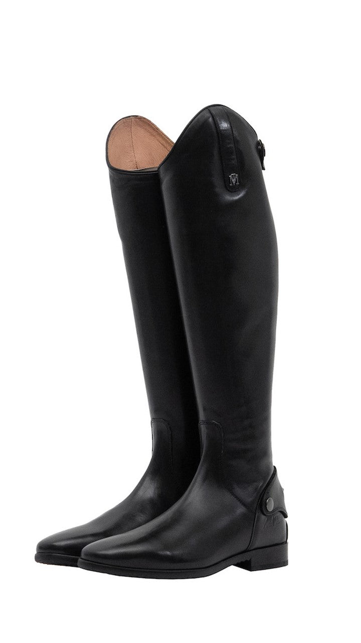 Mark Todd Long Leather Riding Boots MKII - Black - Size 38 Std/Std
