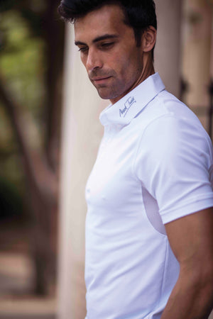 Mark Todd Competition Polo Shirt White
