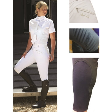 Mark Todd Coolmax Breech White