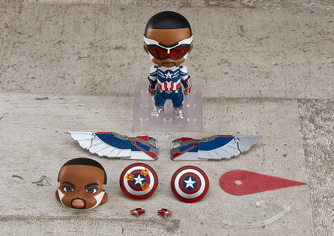 [PRE-ORDER] Nendoroid 1618-DX Captain America (Sam Wilson) DX - The Falcon and The Winter Soldier