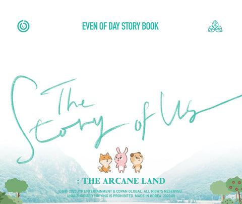 [PRE-ORDER] DAY6 (Even of Day) - STORY BOOK The Story of US: The Arcane Land
