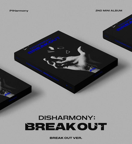 [PRE-ORDER] P1Harmony - Disharmony : Break Out (2nd Mini Album)