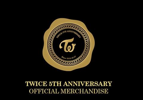 [PRE-ORDER] TWICE 5TH ANNIVERSARY OFFICIAL MERCHANDISE