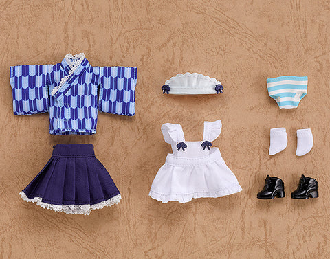 [PRE-ORDER] Good Smile Company Nendoroid Doll Outfit Set (Japanese-Style Maid - Blue)