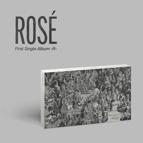 [PRE-ORDER] Blackpink Rose - R (First Single Album)
