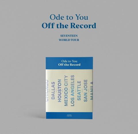 [PRE-ORDER] SEVENTEEN - ODE TO YOU, OFF THE RECORD PHOTOBOOK