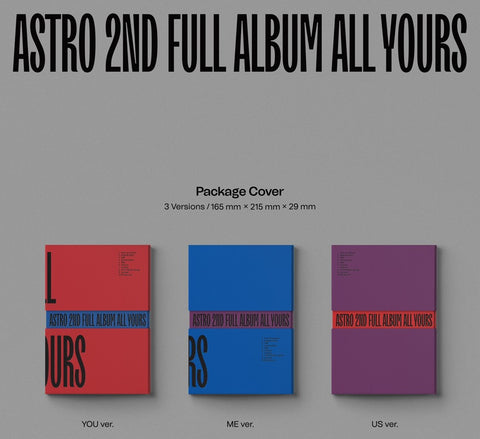 [PRE-ORDER] ASTRO - All Yours (2nd Album)