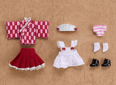[PRE-ORDER] Good Smile Company Nendoroid Doll Outfit Set (Japanese-Style Maid - Pink)