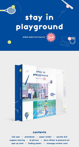 [PRE-ORDER] Stray Kids - Stay In Playground (2nd Photobook)