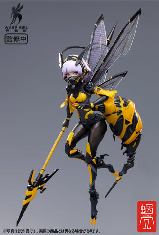 [PRE-ORDER] SNAIL SHELL 1/12 Scale BEE-03W WASP GIRL Bun chan