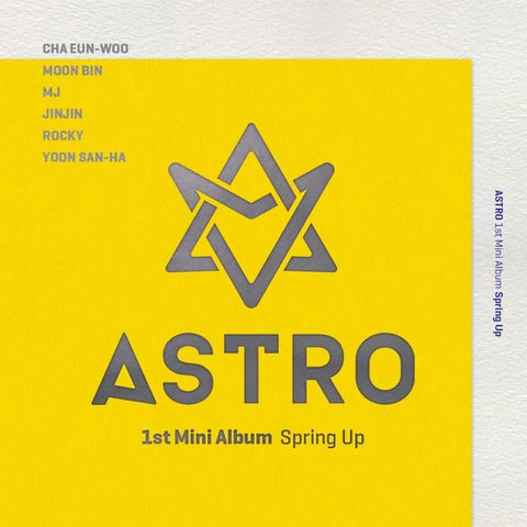 [PRE-ORDER] ASTRO 1st Mini Album - SPRING UP