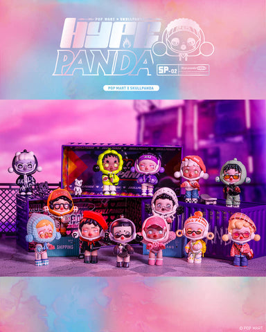 [PRE-ORDER] POP MART SKULLPANDA Hypepanda Series (Box of 12)