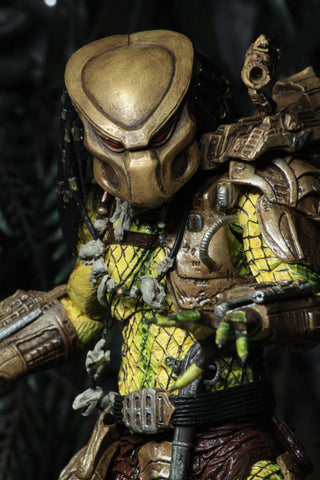 "[PRE-ORDER] Neca Predator - 7"" Scale Action Figure - Ultimate Elder Golden Angel"