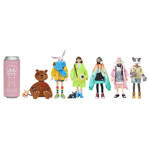 [PRE-ORDER] COME4ARTS 15-17cm Pop Figures Pet Hospital (SET of 6)