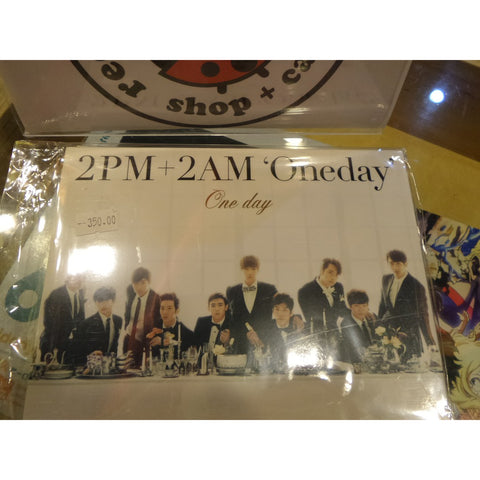 [Unsealed] 2AM & 2PM Japan Album - One Day (Includes CD+DVD)