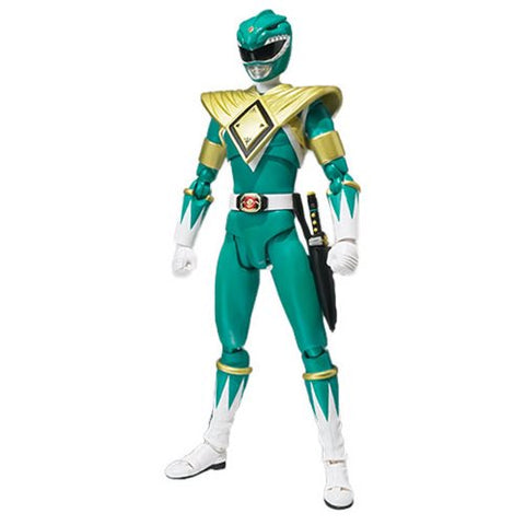 Mighty Morphin Power Rangers Green Ranger SH Figuarts Action Figure SDCC version