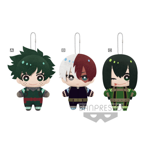 [INCOMING STOCK] Banpresto Mascot Plush ~Night Training!!~ Vol.3 - My Hero Academia (Set of 3)
