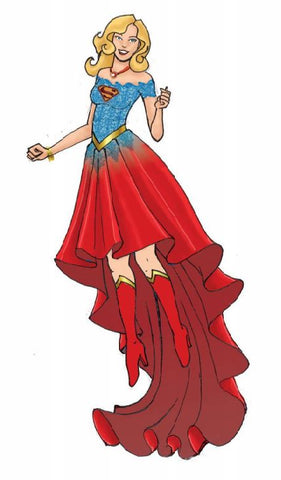 DC COMICS Couture de Force - SUPERGIRL