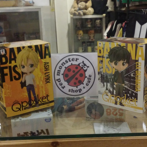QPosket Ash Lynx and Eiji Okumura Set - Banana Fish