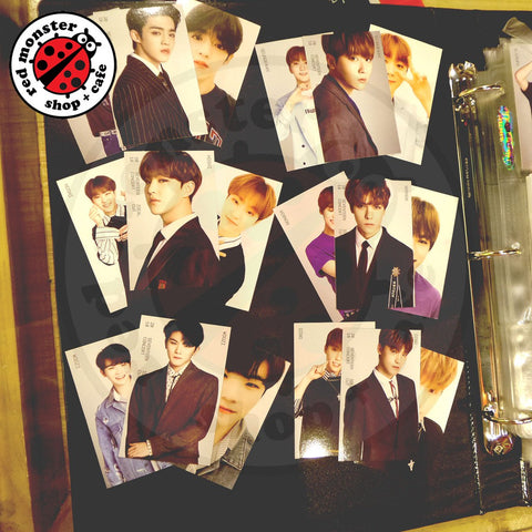 Seventeen Ideal Cut Korea Trading Photocards (Dino Set Only)