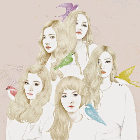 [PRE-ORDER] RED VELVET 1st Mini Album - ICE CREAM CAKE (Random ver.)